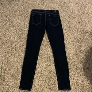 Seven for all mankind skinny jeans dark 26
